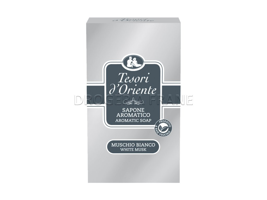 tesori d oriente toaletne mydlo white musk biele pizmo 150 g