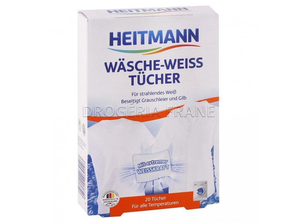 obrusky do pracky heitmann weiss na biele pradlo 20 ks