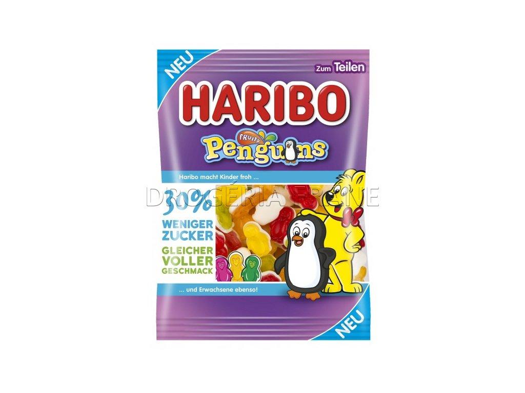 haribo penguins ovocne zele cukriky 160 g