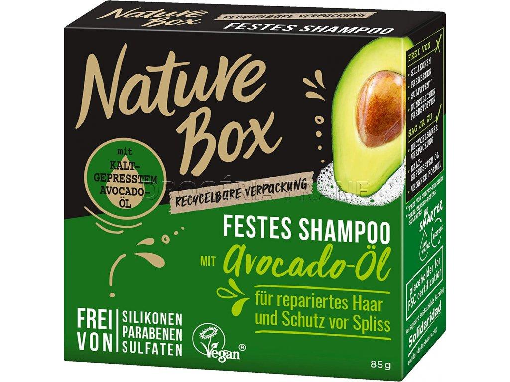 nature box avocado oil tuhy sampon 85 g