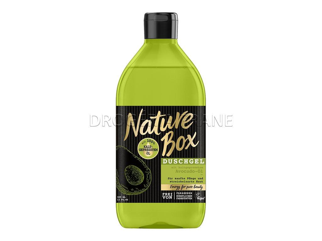 nature box avocado ol sprchovy gel avokado 385 ml
