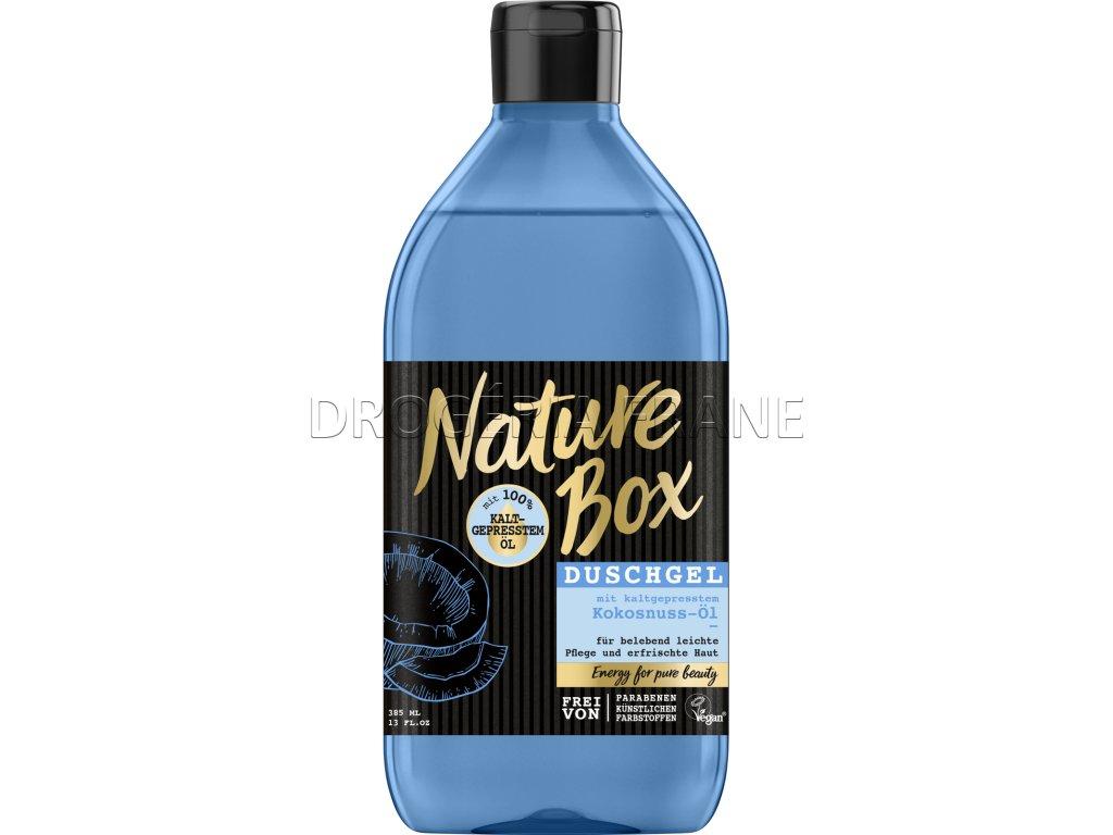 nature box kokosnuss ol sprchovy gel kokosovy orech 385 ml