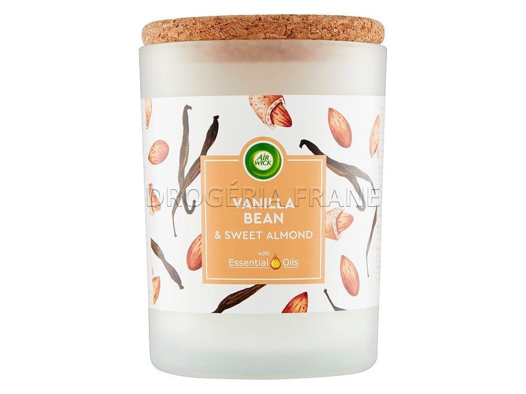 air wick vonna sviecka essential oils vanilka sladke mandle 185 g