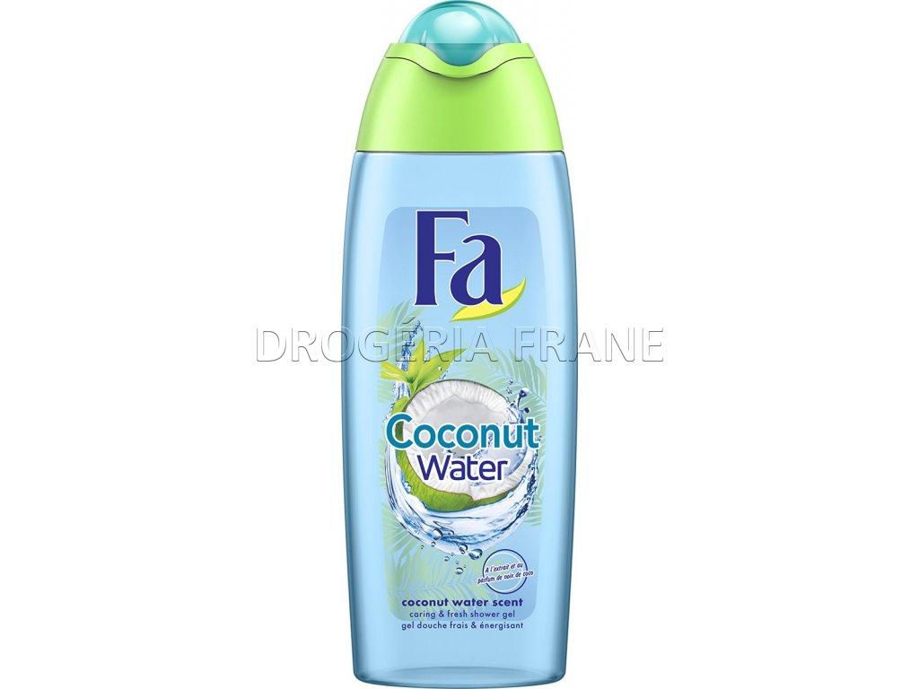 damsky sprchovy gel fa coconut water 250 ml