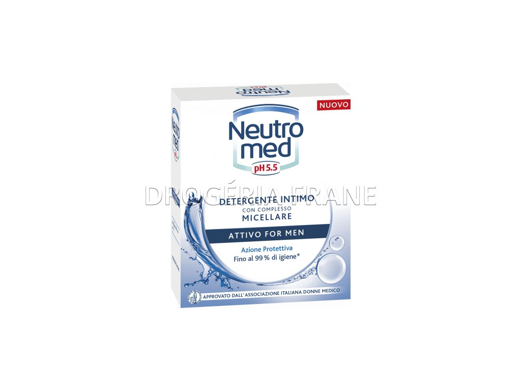 neutromed attivo for men intimne mydlo pre muzov 200 ml