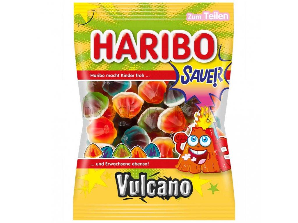 haribo vulcano sauer ovocne kysle zele cukriky 175 g