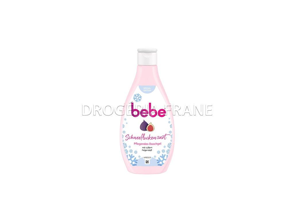 bebe schneeflockenzart sprchovy gel s vonou fig 250 ml