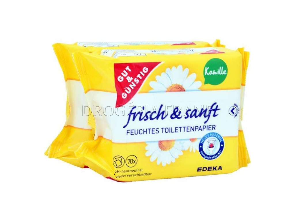 g g vlhceny toaletny papier frisch sanft kamille 70 ks