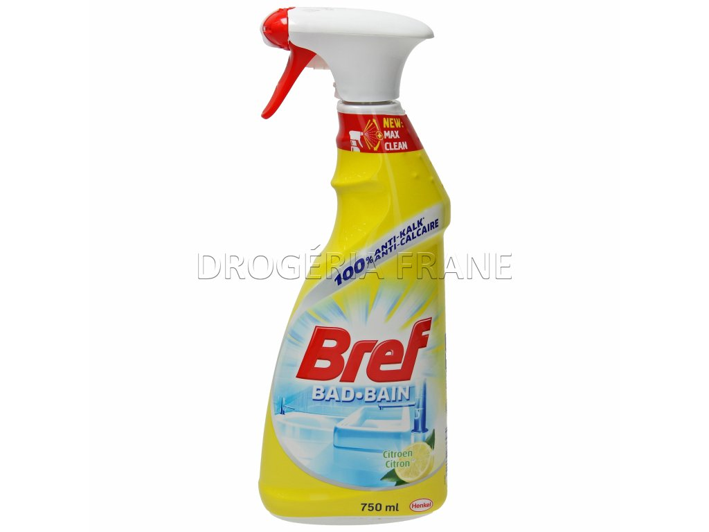 bref bad bain citron s rozprasovacom 750 ml