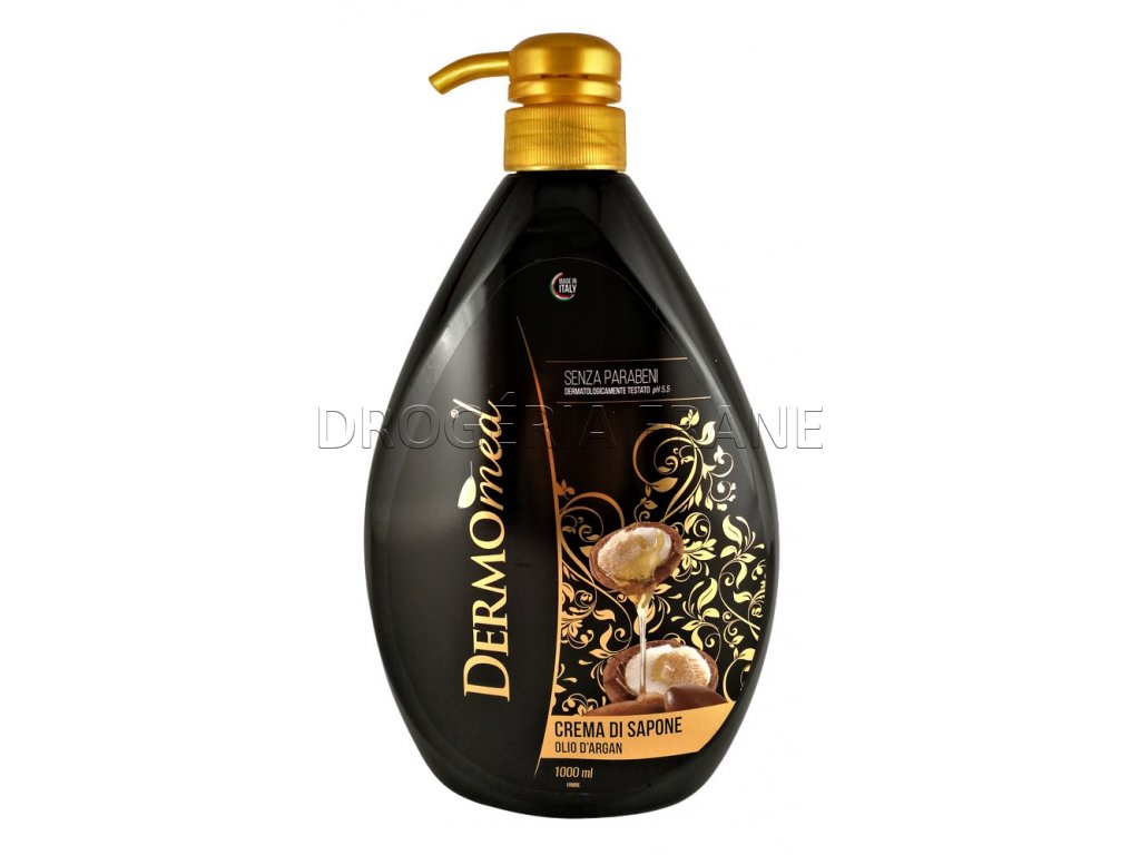 dermomed gel na ruky cream soap argan oil 2 1000 ml
