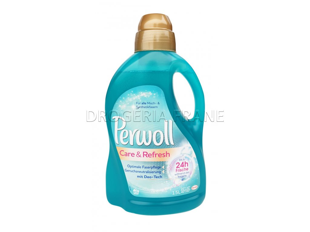 perwoll care refresh gel na pranie 1 5 l 20 prani