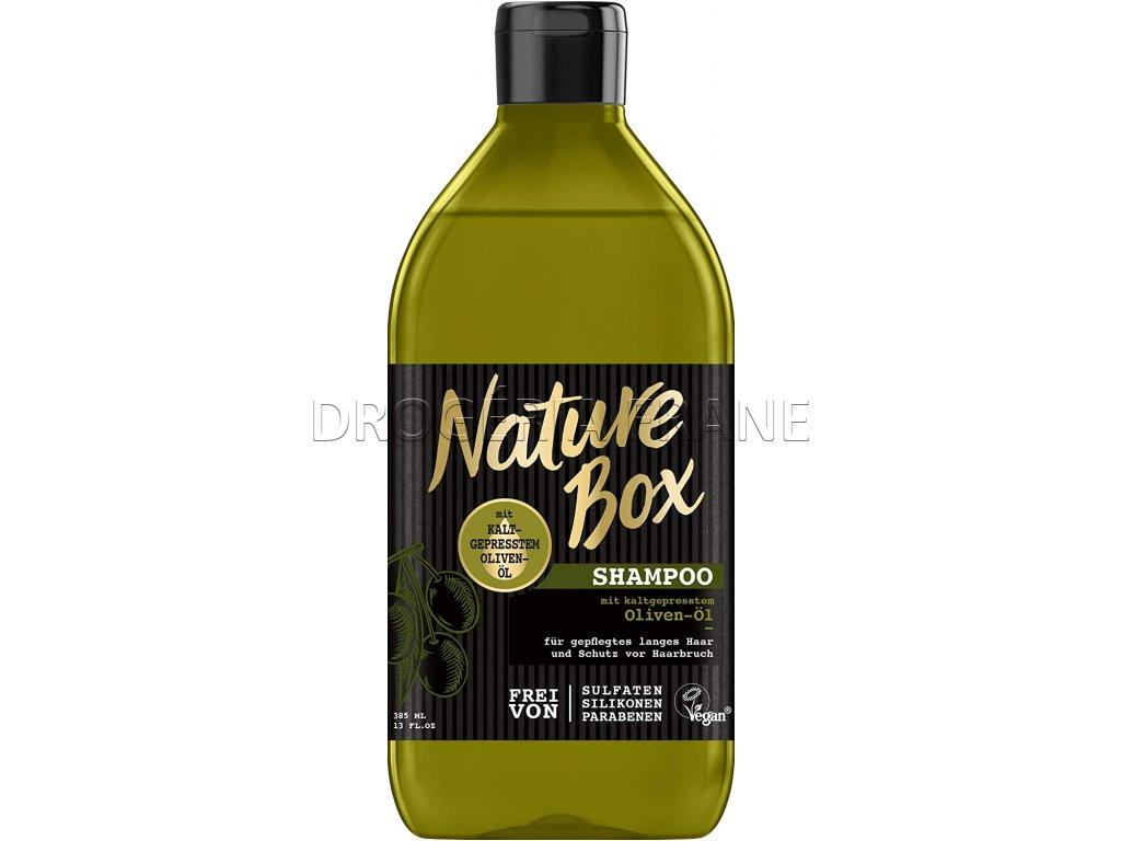 nature box oliven ol damsky sampon na vlasy 385 ml