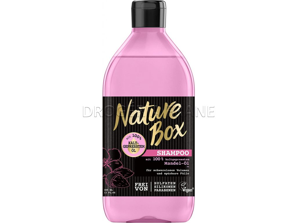 nature box mandel ol damsky sampon na vlasy 385 ml