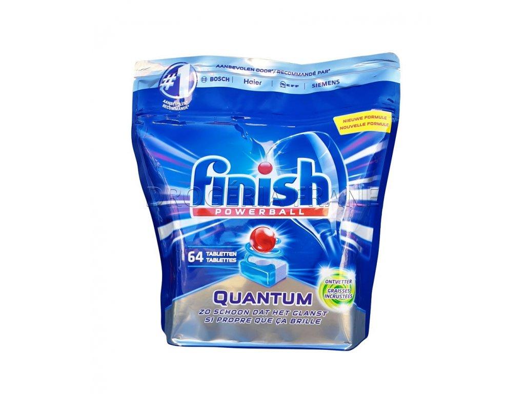 finish powerball qauntum tabletky do umyvacky riadu 64 ks