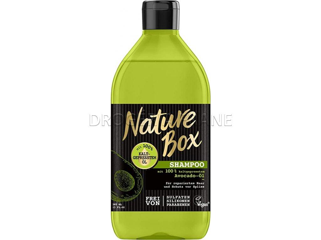 nature box avocado ol damsky sampon na vlasy 385 ml