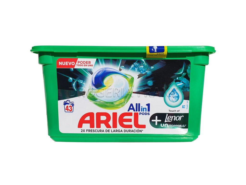 ariel febreze 3 in 1 lenor unstoppable kapsule na pranie 43 ks