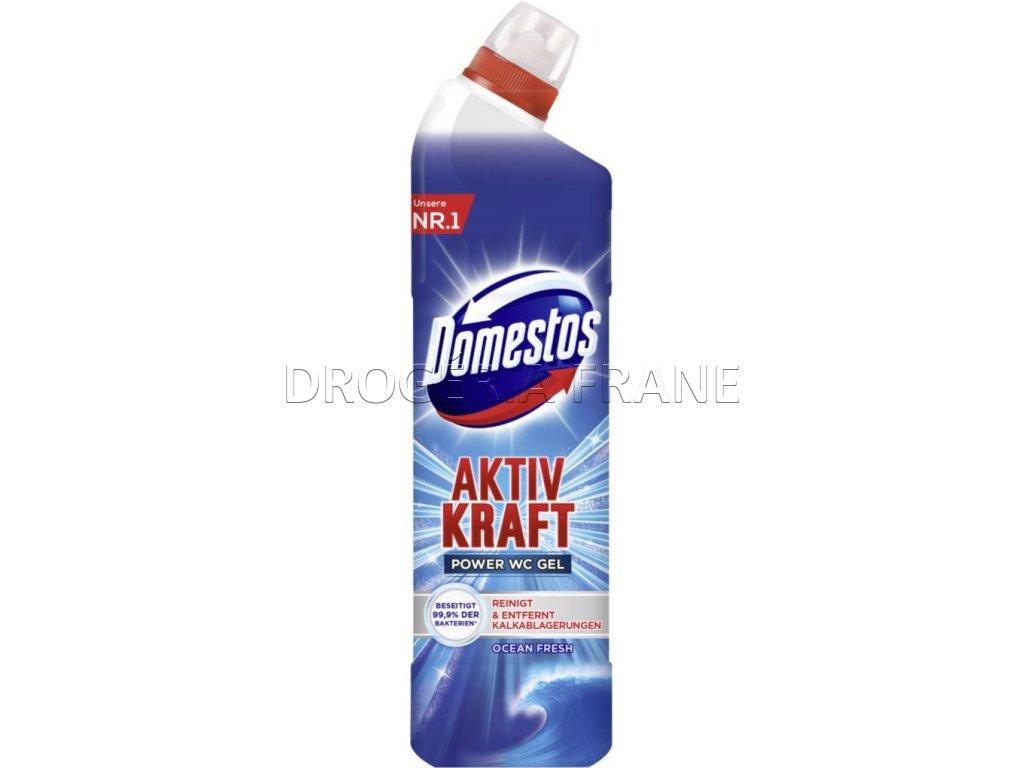 cistiaci prostriedok domestos aktiv kraft wc gel modry 750 ml