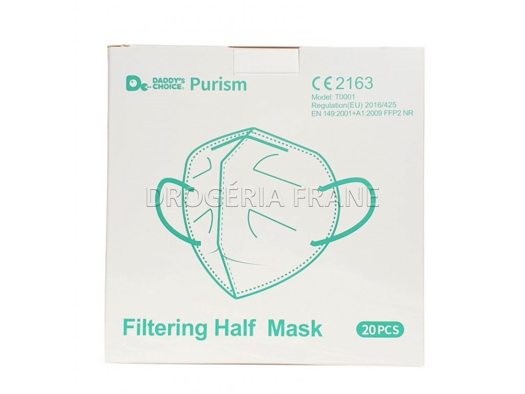 respirator ffp2 nr purism 20 ks balenie