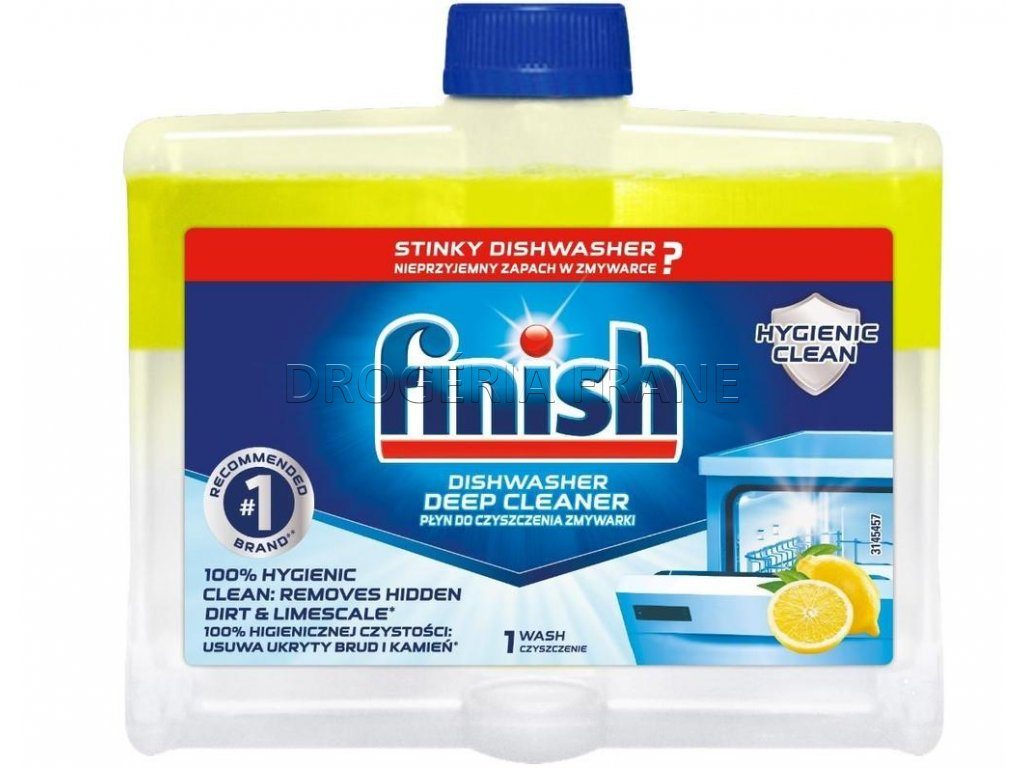 Finish Calgonit citrón Čistič do umývačky riadu  - 250 ml