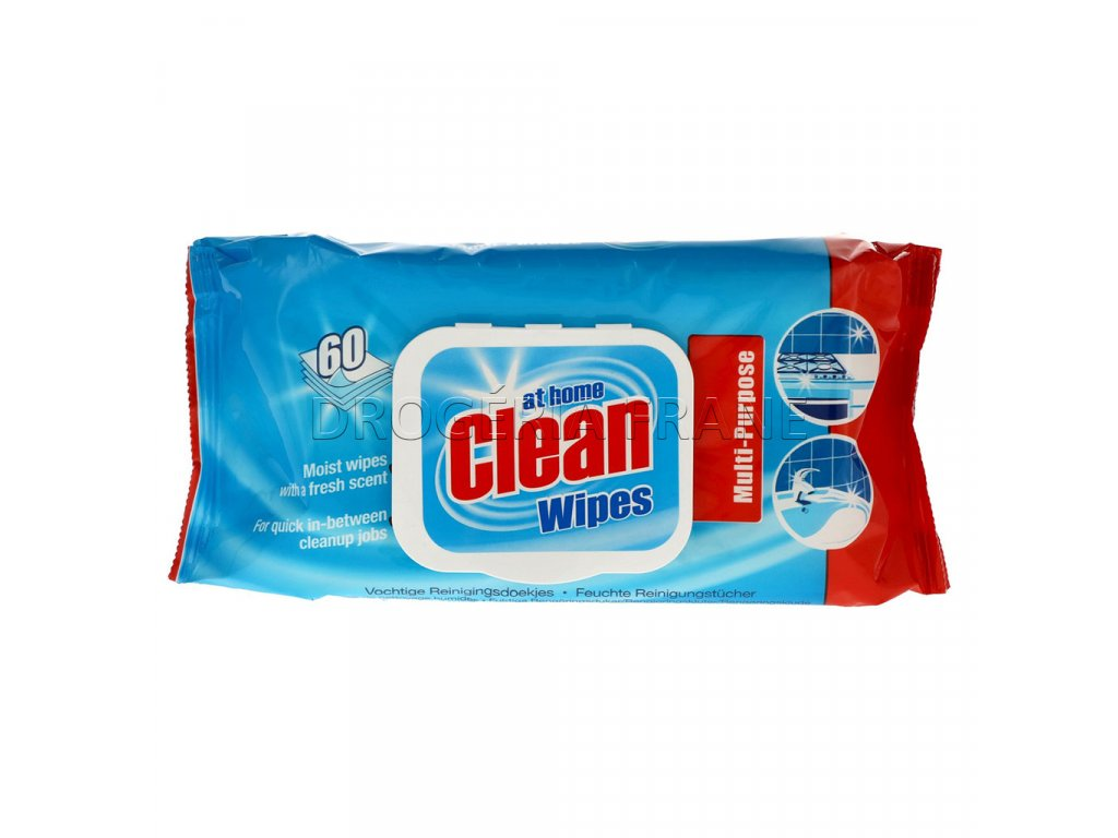 at home clean wipes classic cistiace obrusky 60 ks