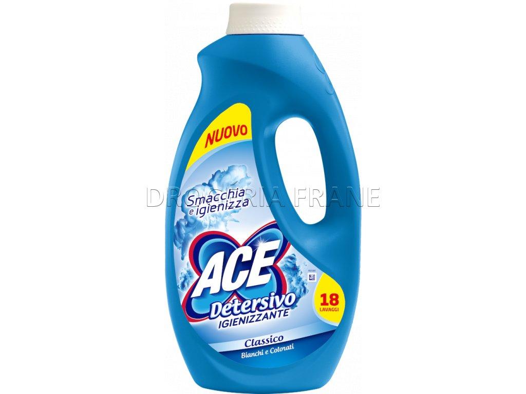 ace detersivo igienizante classico dezinfekcny gel na pranie 990 ml 18 prani