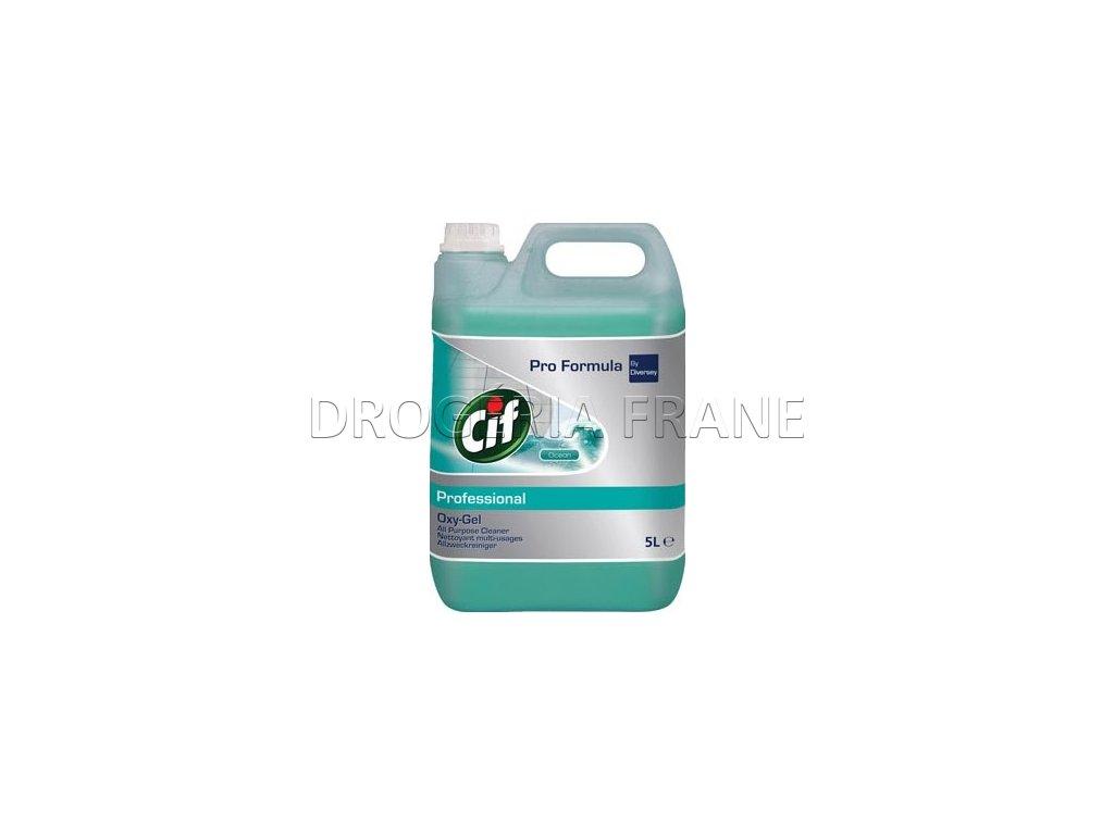 cif pro formula professional oxy gel cistiaci prostriedok na podlahycean 5 0 l