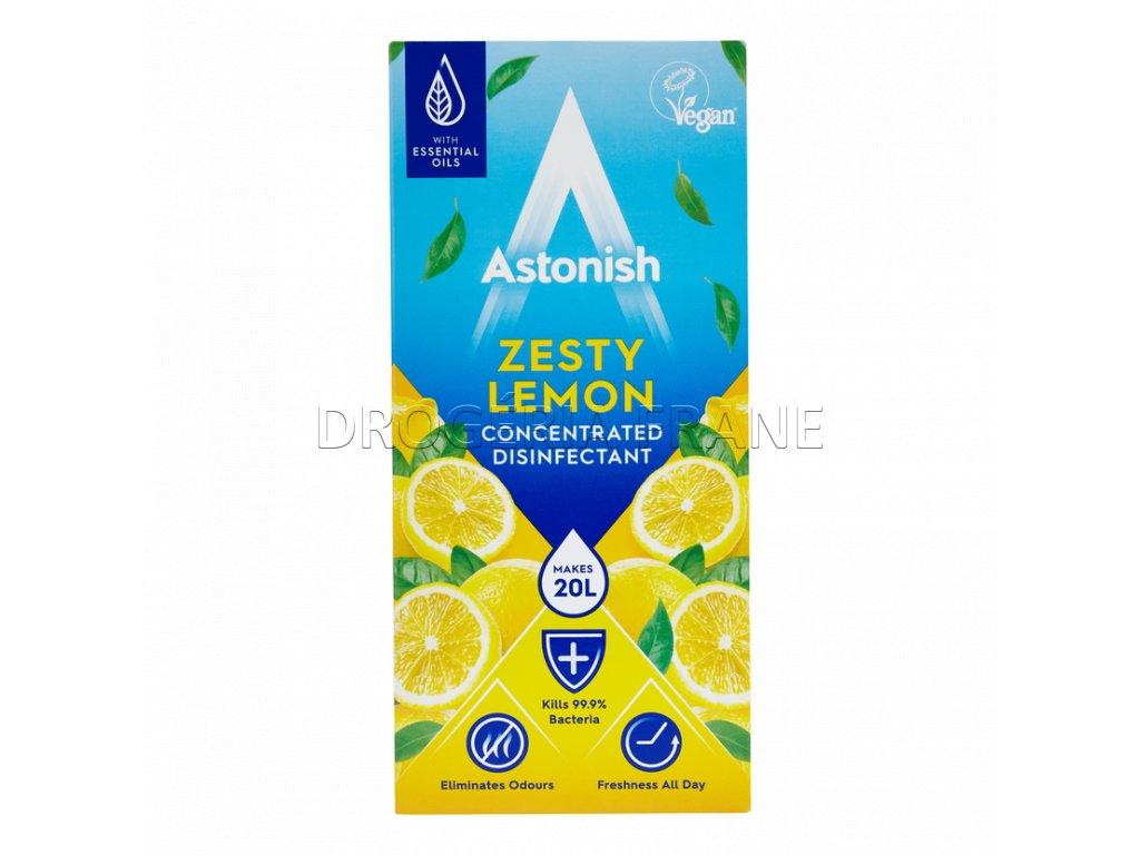 astonish zesty lemon koncentrovany dezinfekcny cistic na podlahy 500 ml