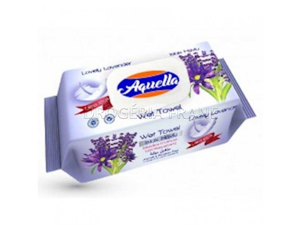 aquella ultra soft lavennder vlhcene obrusky 100 ks