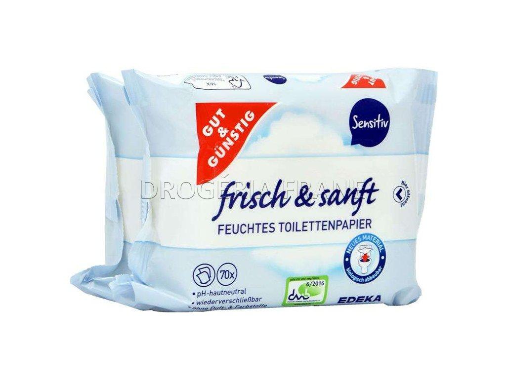 g g sensitive frisch sanft vlhceny toaletny papier 70 ks