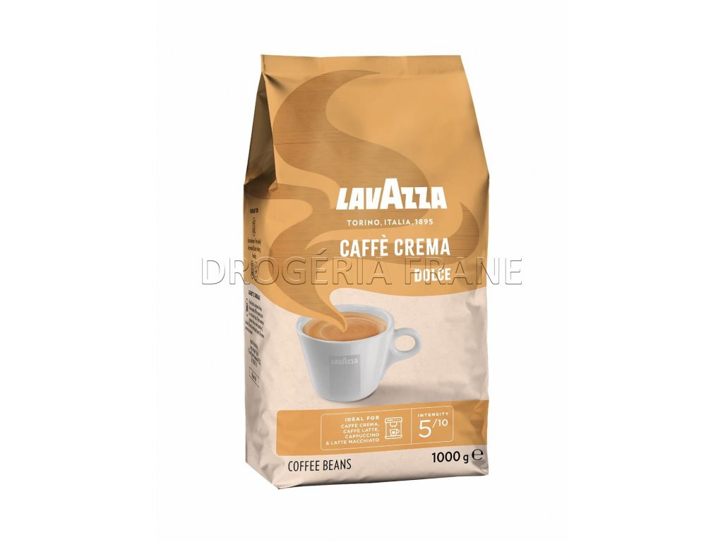 lavazza caffe crema dolce zrnkova kava 1 kg