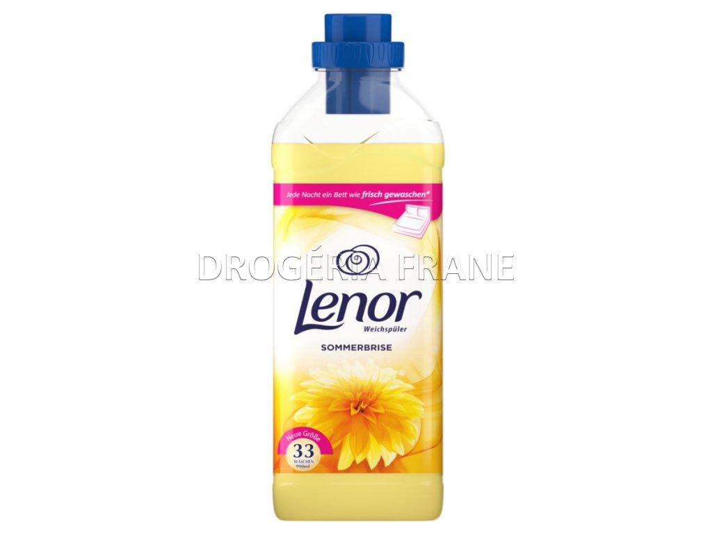 lenor sommerbrise zlty 990 ml 33 prani