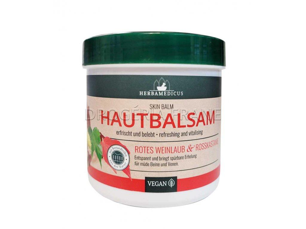 herbamedicus hautbalsam rotes weinlaub rosskastanie na krcove zily 250 ml