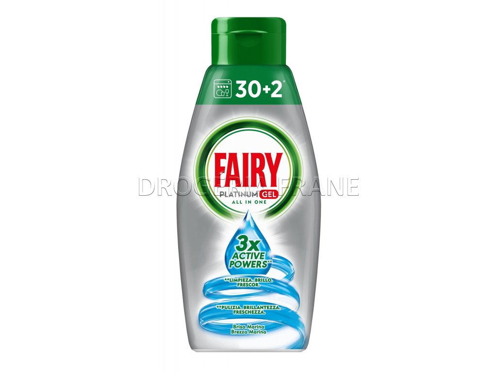 fairy platinum brezza marina gel do umyvacky riadu 650 ml 32 davok