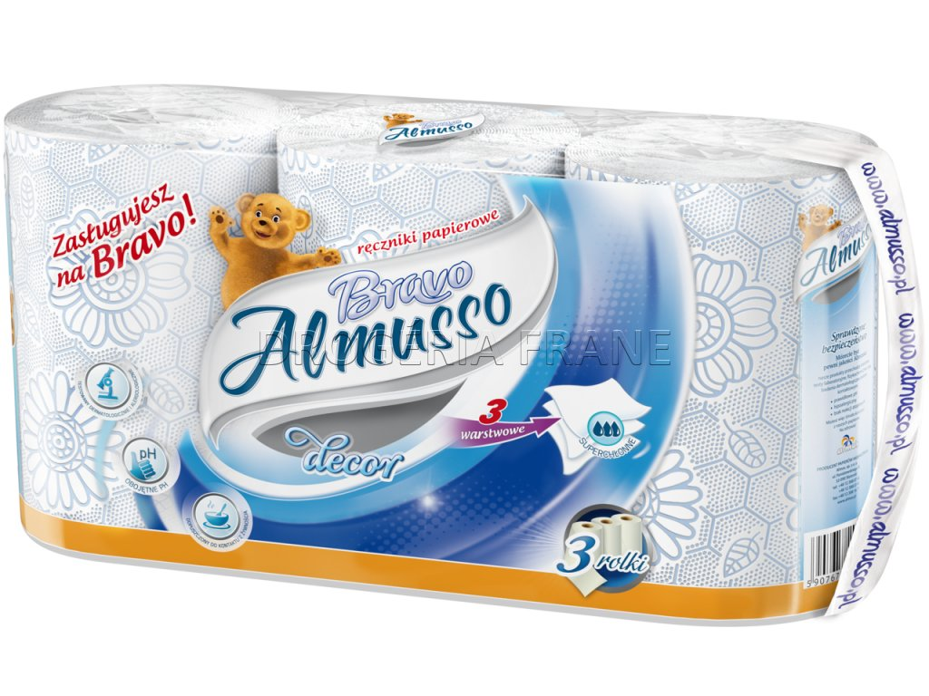 Ręcznik Almusso Bravo niebieski