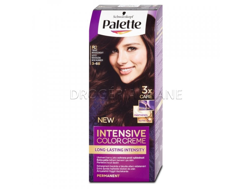schwarzkopf palette intensive colorcreme 3 36 farba na vlasy r2 tmavomahaganova