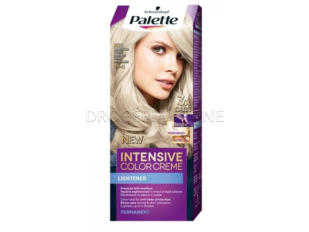 schwarzkopf palette intensive colorcreme 10 2 farba na vlasy a 10 zvlast popolavoplava