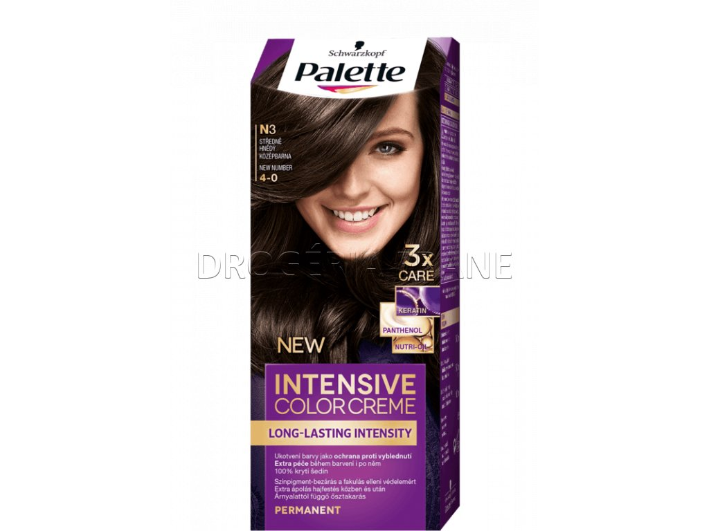 schwarzkopf palette intensive colorcreme 4 0 farba na vlasy n3 stredne hnedy