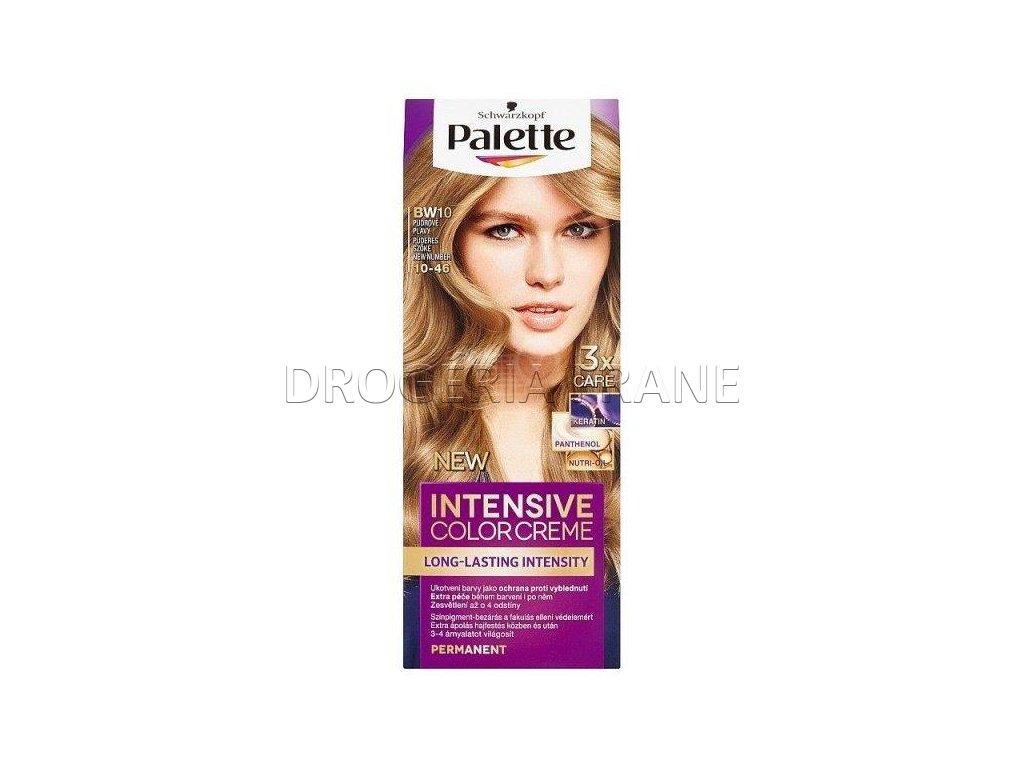 schwarzkopf palette intensive colorcreme 10 46 farba na vlasy bw10 pudrovo plava