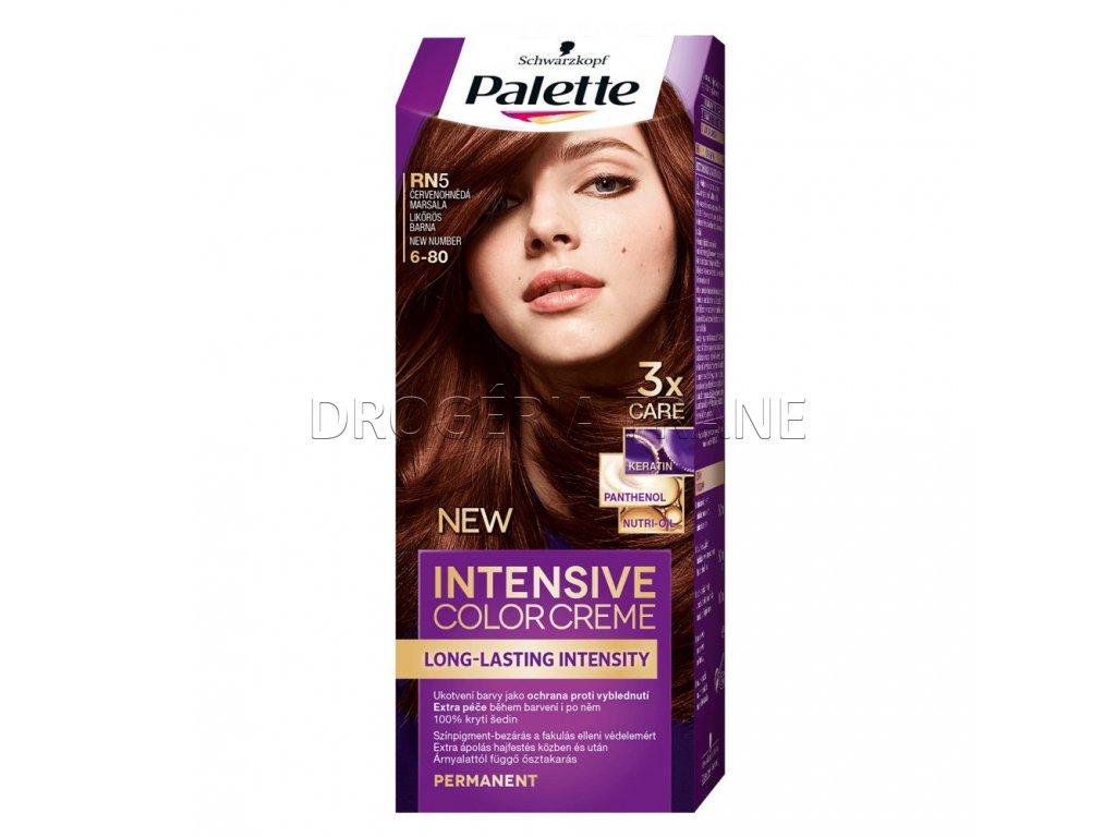 schwarzkopf palette intensive colorcreme 6 80 farba na vlasy rn5 cervenohneda marsala