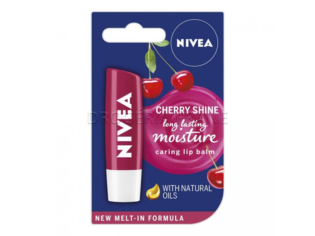 nivea balzam na rty cherry shine