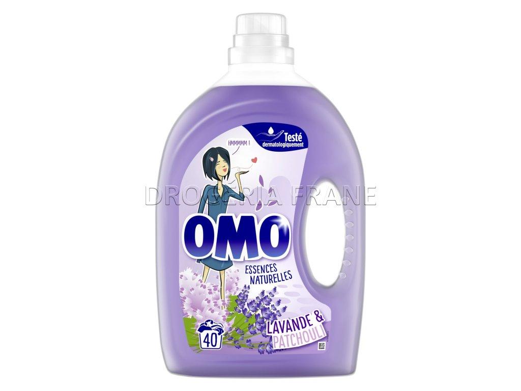 omo essences natturelles lavande patchouli gel na pranie 2 l 40 prani