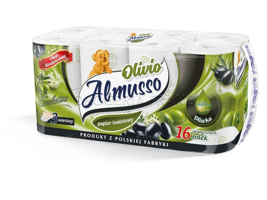 almusso oliva 3 vrstvovy toaletny papier 16 ks