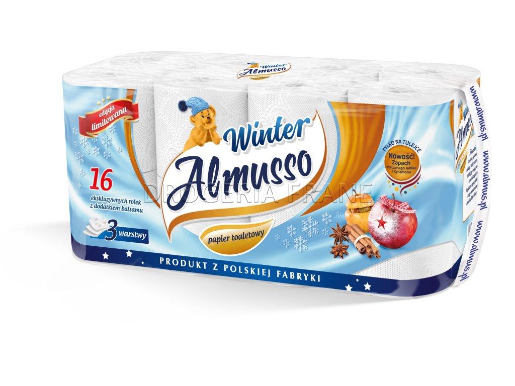 almusso winter 3 vrstvovy toaletny papier 16 ks