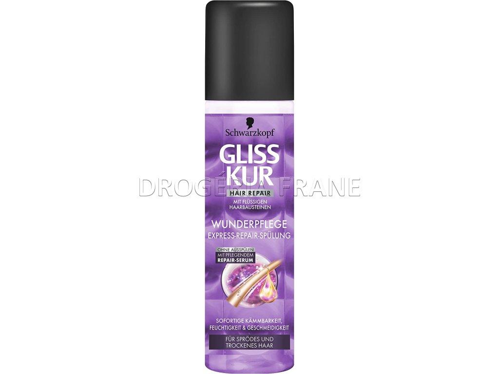 gliss kur hair repair wunderpflege expresny kondicioner na vlasy 200 ml