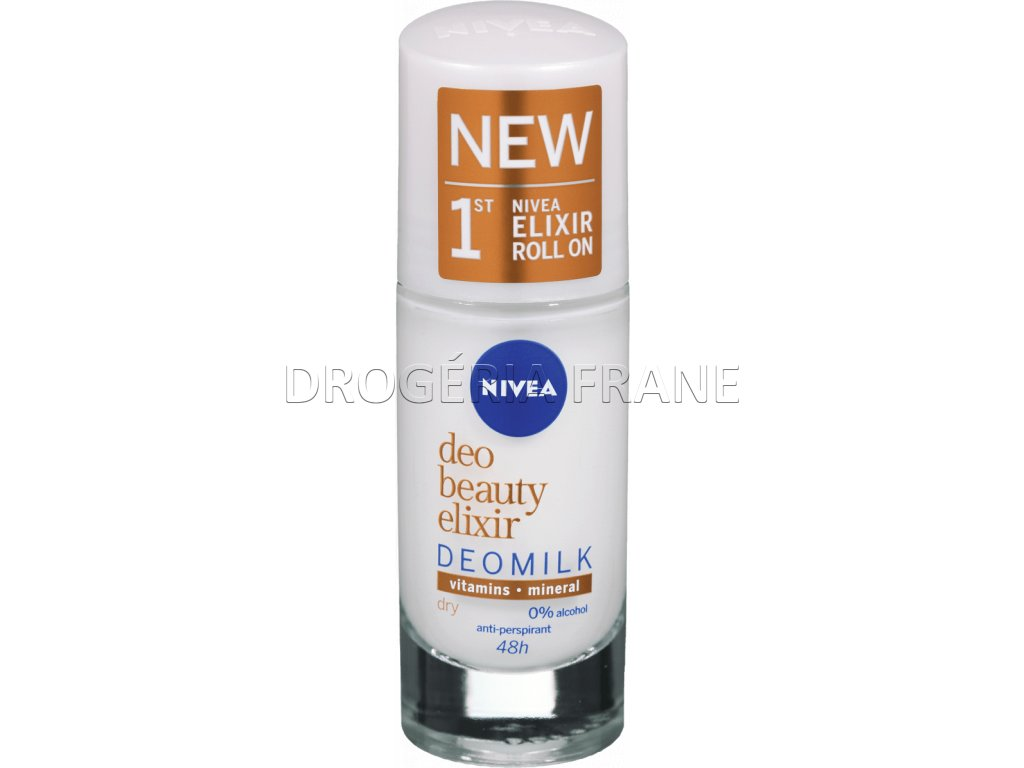nivea deo beauty elixir deomilk roll on 40 ml