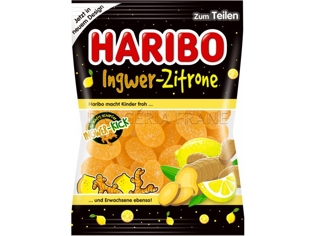 haribo zazvor a citron ovocne zele cukriky 200 g