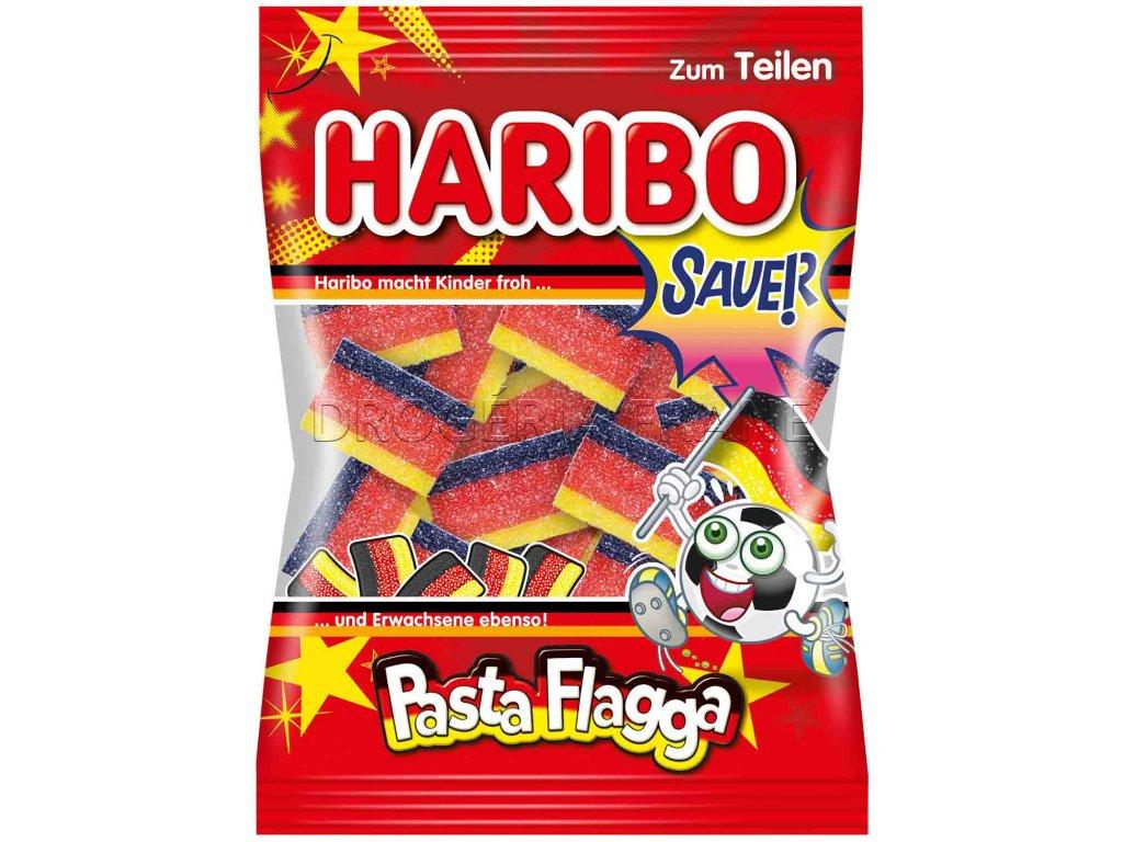 haribo pasta flagga kysle ovocne zele cukriky 175 g