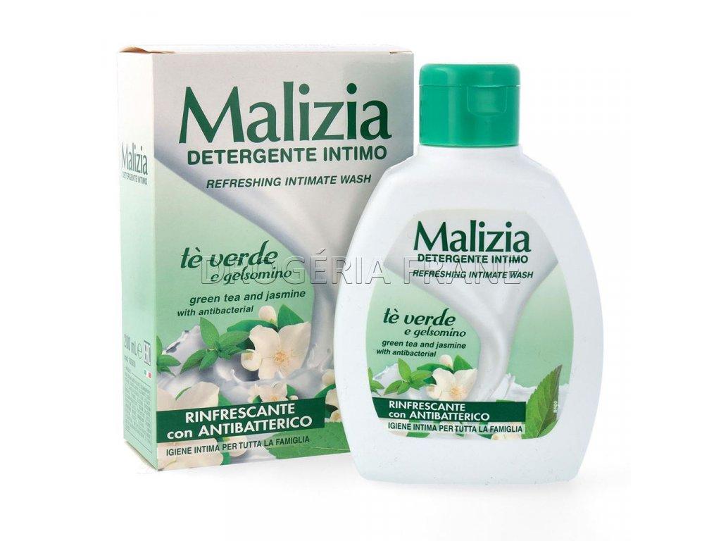 malizia te verde e gelsomino antibakterialne intimne mydlo 200 ml