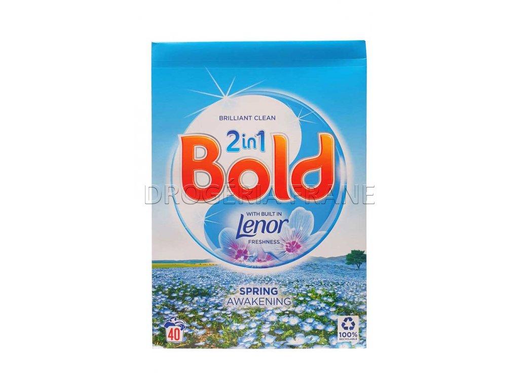 bold 2 en 1 spring awakening prasok na pranie 2 6 kg 40 prani