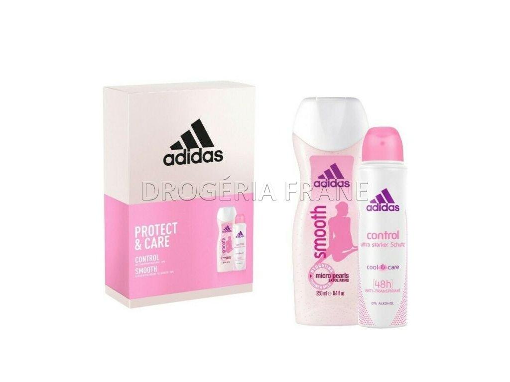 adidas protect care darcekova sada sprchovy gel 250 ml anti transpirant 150 ml